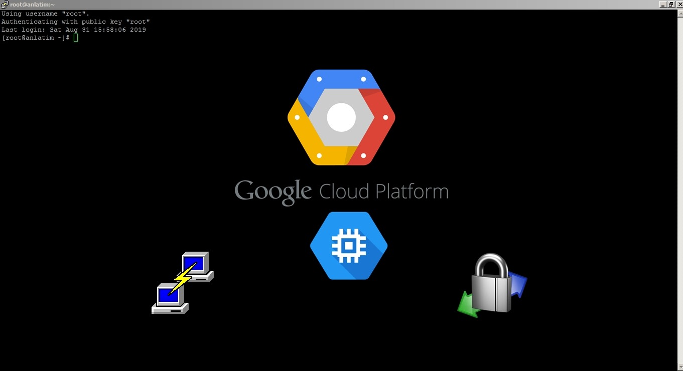 Google Cloud Engine PuTTy WinSCP Root login